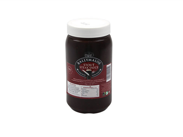 Ballymaloe Irish-Stout Steak-Sauce // 1,4 kg / Flasche