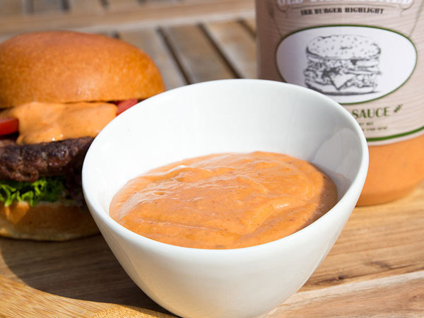 Ballymaloe Old Fashioned Burger Sauce // 1,2 kg / Flasche