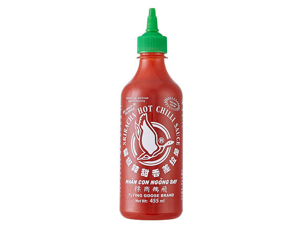 Flying Goose Sriracha Chilisauce // 455 ml / Flasche